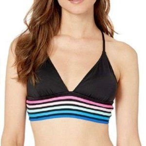La Blanca Women's Bikini Top Size 12 Black
